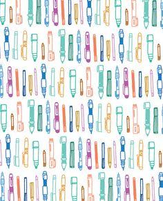 pen pattern by gemma correll, via Flickr