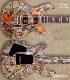 #New Realtree Xtra Camo Electric Guitar  #Realtreecamo