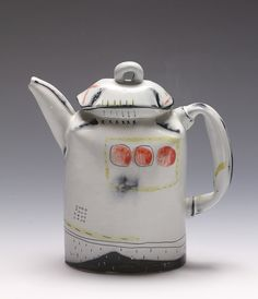 folded shoulder teapot by JosieJurczenia, via Flickr