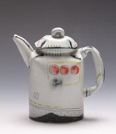 folded shoulder teapot by JosieJurczenia, via Flickr