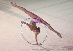 Yana Kudryavtseva #rhythmic #gymnastics #hoop