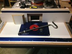 Router table and fence for Ridgid 4512 Table Saw