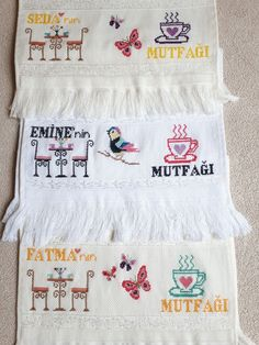 Cross Stitch, Baby Cross Stitch Patterns, Embroidered Towels, Cross Stitch Embroidery, Drop Cloths, Appliques, Pattern, Punto De Cruz, Seed Stitch