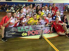 """Hóquei em Patins feminino conquista Taça de Portugal, 3ª consecutiva. Assim, o Benfica completou a """"dobradinha"""", juntando a taça ao campeonato nacional português."""