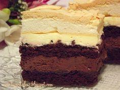 Delicious Cake Recipes, Yummy Cakes, Sweet Recipes, Different Cakes, Polish Recipes, Food Cakes, Sweet Cakes, Relleno, Cake Cookies