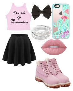 """"""""""" by nikkisfashion273 on Polyvore featuring Casetify, Timberland and Lime Crime"""