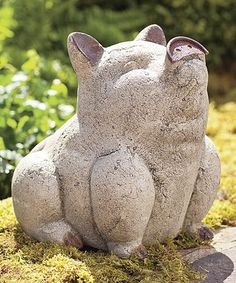 Another great find on #zulily! Volcanic Ash Happy Pig Figurine #zulilyfinds