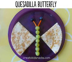 BONUS: | 29 Lifechanging Quesadillas You Need To Know About  http://www.creativekidsnacks.com/2013/03/21/butterfly-quesadilla-weekly-kids-co-op/