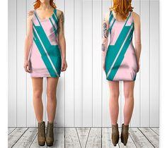 "Bodycon dress ""Jagged Edges"" by Bunhugger Design"