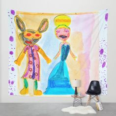 Masqueraders Wall Tapestry  Mother's Day 15% off+Free worldwide Shipping See More... Bit.ly/1UegP8A @society6 #society6promo #society6 #society6artists #society6art #shareyoursociety6 #storedesign #dutchdesign #designaddict #displate #artprint #societydesign #printmaking #wallart #sarfacedesign #compute #stationerycards #iphone #ipad #laptop #tshirts #tank #longsleeve #bikertank #hoodies #leggings #throwpillow #rectangularpillows #nofilter #art #artprint