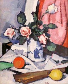 Pink Roses - Samuel John Peploe - The Athenaeum