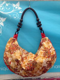 Flores Rosa Hobo by MixedBtq on Etsy, $62.00