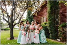 Fort Collins Colorado Wedding Photographer, Colorado Wedding Photographer, Backyard Wedding Colorado, Private Residence Wedding Colorado, Bridesmaids Photo, Bridesmaids Dresses
