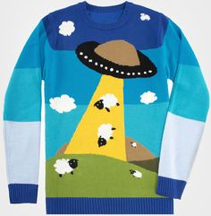 Toddland UFO Sheep Sweater. All sold out meaning it's gotta be knit.