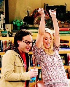 Who would have thought D would be this exciting? #bigbangtheory