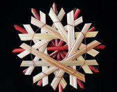 """3,5"""" Straw Star Ornament"""