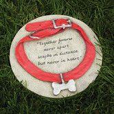 Found it at Wayfair - Dog Collar Garden Stone