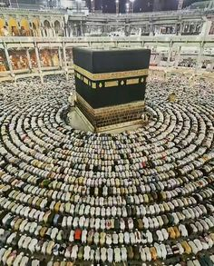 HISTORY- The Kaaba is located in Mecca, Saudi Arabia and is part of the Five Pillars in Islam. Muslims must make the hajj to Mecca and travel around the Kaaba seven times going counter clockwise. Muslims must make at least one trip to the Kaaba in their lifetime. Back in Abraham's time, it was the first Mosque on earth. Abraham was the person who built the Kaaba.