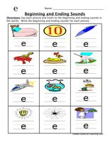 Worksheets Beginning And Ending Sounds Worksheets activities words and phonics worksheets on pinterest beginning ending sounds worksheet e