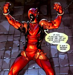 Deadpool V3 #2- Loved Ryan Reynolds as Deadpool before his scary physical transformation in WOLVERINE. He totally cracked me up with his dry wit.