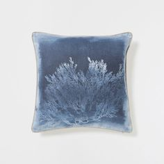 CORAL PRINT LINEN CUSHION - Cushions - Decoration | Zara Home United Kingdom