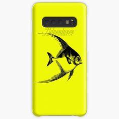 'Adventurer The Fish' Case/Skin for Samsung Galaxy by Beer-Bones Samsung Cases, Samsung Galaxy, Galaxy Design, Adventurer, Iphone Wallet, Protective Cases, Bones, Wraps, Fish