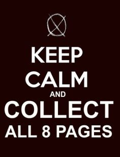 Slender man's eight pages