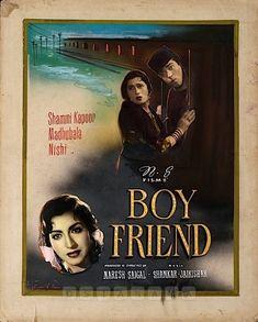 Vintage Bollywood, Indian Bollywood, Shammi Kapoor, Bollywood Posters, Indian Movies, Indian Film Actress, Film Posters, Hollywood Actresses, Movie Stars