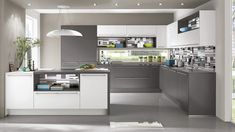Find your personal dream kitchen in our latest collection Right this way. Nobilia Kitchen, Cocinas Kitchen, Kitchen Decor, Kitchen Design, German Kitchen, English Kitchens, Grey Kitchens, Winchester, Kitchen Showroom