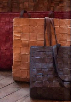 I love these bags that Donna Karan is having made in my ancestral country of Haiti.  I wish I could afford them!
