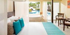 Azul Sensatori Hotel luxury all inclusive honeymoon, vacation and wedding packages in Riviera Maya, Mexico made easy. Children love this resort. All Inclusive Honeymoon Resorts, Cancun Hotels, Mexico Resorts, Best Resorts, Cancun Mexico, Mexico Honeymoon, Best Honeymoon, Vacation Places, Vacation Spots
