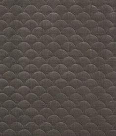 Pindler & Pindler Scallop Pewter Fabric - $71.7 | onlinefabricstore.net