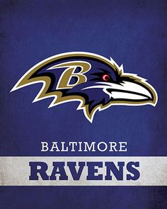 NFL - Baltimore Ravens Logo $24.99 Display your passion for the Baltimore Ravens with this 16x20 Printed Canvas Logo from ScoreArt. This incredible print is optimal for the enthusiast in your life. #Baltimore #Ravens #BaltimoreRavens #NFL #Football #ScoreArt #Sports Arena Football, Football Team, Baltimore Ravens Logo, Sports Team Logos, Nfl Logo, Pallets, Maryland, Stencils, Passion