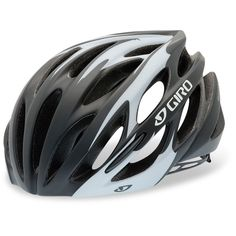 Giro Saros Road Bike Cycling Helmet - Matt Black / White