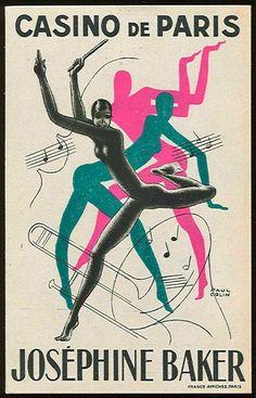 Josephine Baker, Paul Colin #SalonCSF