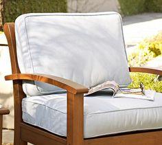 Chatham Outdoor Furniture Cushions #potterybarn