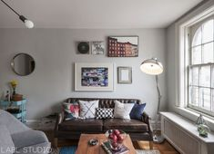 West Village bachelor pad apartment by LABL studio