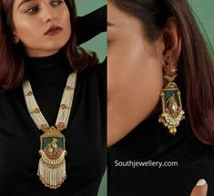 Jewellery Designs – Page 12 of 1647 – Latest Indian Jewellery Designs 2019 ~ 22 … Jewellery Designs – Page 12 of 1647 – Latest Indian Jewellery Designs 2019 ~ 22 Carat Gold Jewellery one gram gold Indian Jewelry Earrings, Indian Jewelry Sets, Jewelry Design Earrings, Indian Wedding Jewelry, Gold Jewelry, Royal Jewelry, Pendant Jewelry, Jewelry Bracelets, Antique Jewellery Designs