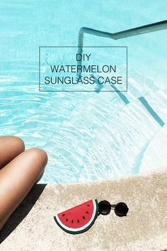 Watermelon Sunglasses Case