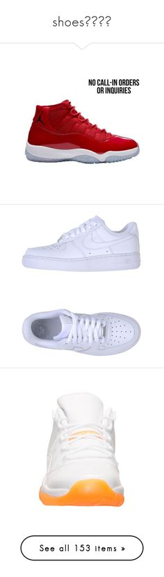 """""""shoes👠👡👢👟"""" by issaxmonea ❤ liked on Polyvore featuring men's fashion, shoes, sneakers, air force one, clothes - shoes, white, leather shoes, leather low top sneakers, low top and nike trainers"""