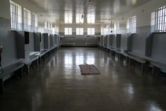 Go to Jail for a Day: Robben Island Prison, South Africa. Photo by prasad. Weird And Wonderful, Wonderful Places, Prison, Waiheke Island, Nelson Mandela, Cheap Flights, Cape Town, Live, Family Travel