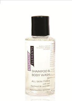 Natural Elements - 75ml Patchouli  lavender body wash