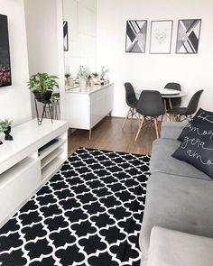 Home Design Decor, Home Room Design, Home Interior Design, Living Room Designs, Small Apartment Interior, Hall Interior, Apartment Living, Small Apartment Decorating, Home Living Room