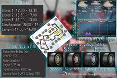 [Infografía] Horarios, datos del circuito, meteorología y neumáticos del GP de Singapur F1 2015  #F1 #Formula1 #SingaporeGP