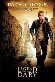I am legend(Barney version)