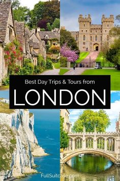 17 Most Popular Day Trips & Tours from London (+ How to Visit & Map) Day Trips From London, Things To Do In London, Visit Oxford, Leeds Castle, Travel Tours, Travel Europe, London Travel, London Map, English Countryside