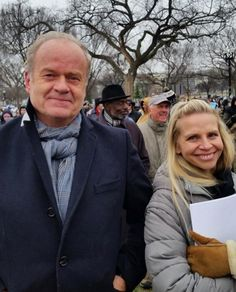 Actor Kelsey Grammer and wife attended the 2016 March for Life (PHOTOS) Kelsey Grammer, Ben Carson, Media Bias, Choose Life, News Media, Paramore, Pro Life, Life Photo, Fake News