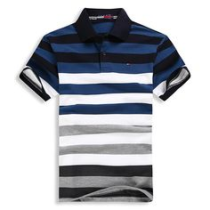 This looks both classy , casual and simple at the same time ! Mens Polo T Shirts, Polo Tees, Boys Shirts, Shirt Men, Camisa Polo, Lacoste, Tennis Clothes, Simple Shirts, Men Casual