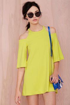 Foxiedox Canary Shift Dress