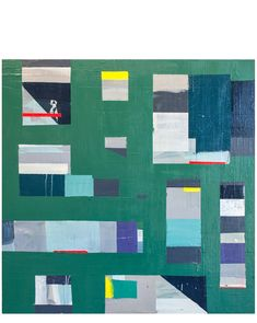 """""""Green Geometric"""" by Megan Donnelly Abstract Painters, Type Design, Wood Paneling, Plexus Products, All Art, Art For Sale, Home Art, Videos, Illustration"""